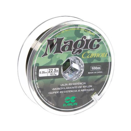 Linha Monofilamento Maruri Magic Camou 100m