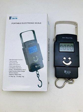 Balança Eletrônica Portátil 50kg F1976