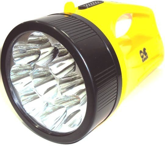 Lanterna Holofote Recarregável Maruri 19 LED