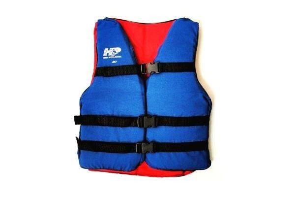 Colete de Flutuação Salva Vidas HP 80 Kg Azul