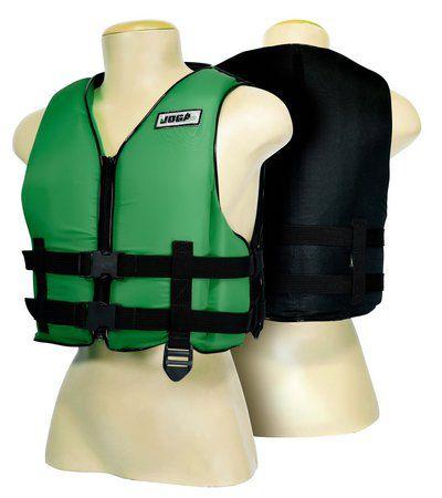 Colete Salva Vidas Verde Wave Jogá 90kg