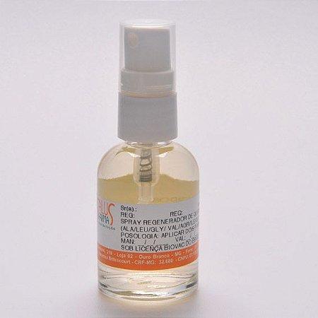 Spray para regeneração de queimaduras com complexo de aminoácidos e associações 30mL