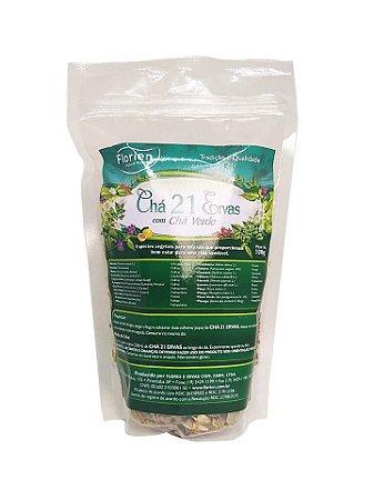 Chá 21 ervas com chá verde 100 g