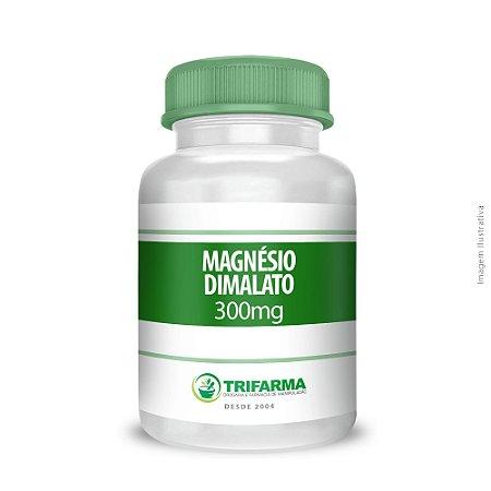MAGNESIO DIMALATO 300mg - 60 CÁPSULAS
