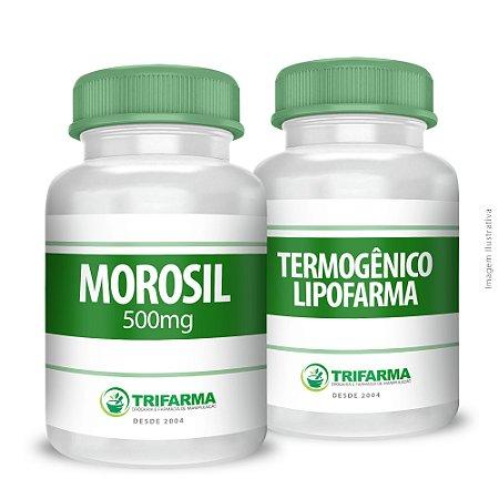 KIT MOROSIL + TERMOGÊNICO LIPOFARMA - 30 cápsulas/60 cápsulas