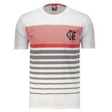 Camisa Flamengo Graphic Masculina - Branco