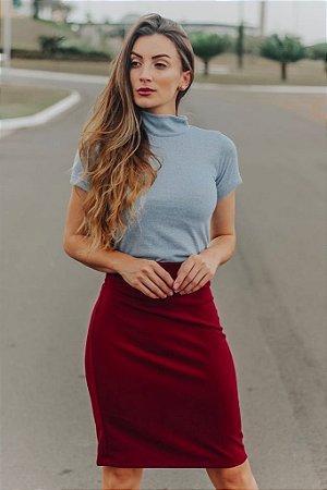 Blusa Marcela  (cinza mescla)