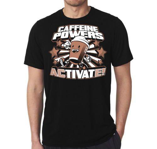 Camiseta Cafeine Powers