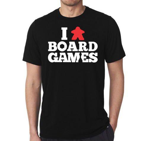 Camiseta I Love Board Games