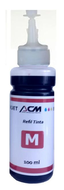 REFIL DE TINTA EPSON MAGRENTA L200 L355 L555, Compatível
