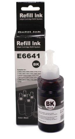 Tinta Preto Compatível para Epson Bulk Ink T664 70ml