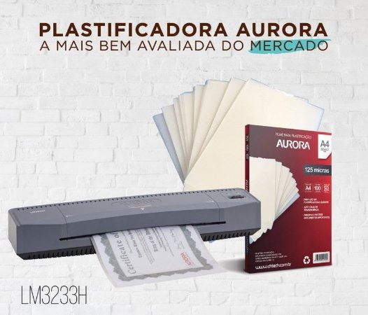 PLASTIFICADORA AURORA LM3233H