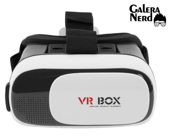 3eddbb0c3a01c Óculos Vr Box 2.0 Realidade Virtual 3d Android Ios Controle ...