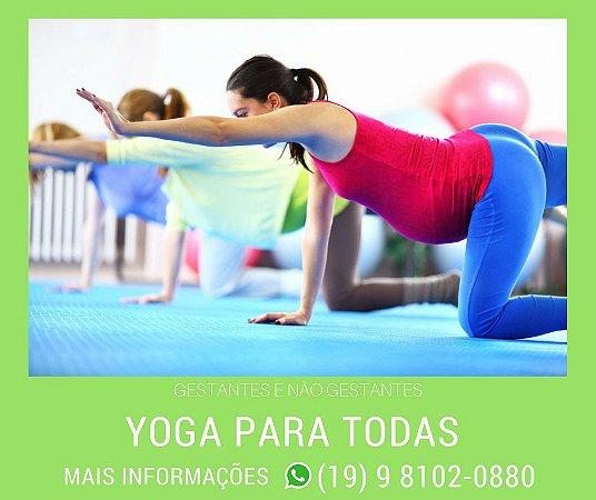 Yoga para todas.