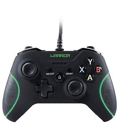 Controle Warrior JS078 - Xbox One e PC