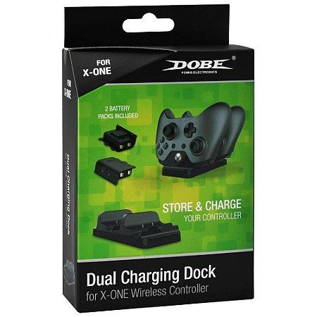 Kit Bateria Xbox One - Base + 2 Baterias