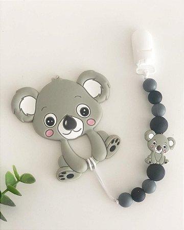 Prendedor de Chupeta em Silicone - Koala Baby