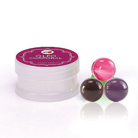 Kit com 4 Cápsulas Beijáveis - Aromas Sortidos (AE-CO226)