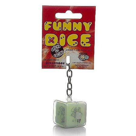 Dado - Funny Dice - Chaveiro (AE-LD002)