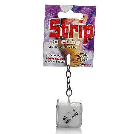 Dado - Strip ao cubo Chaveiro (AE-LD004)