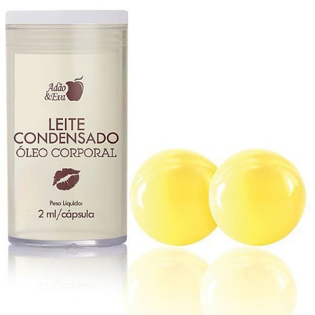 Cápsula Beijável Leite Condensado - 2 unidades (AE-CO217)