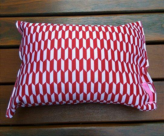 Travesseiro para Praia/Piscina Red&White