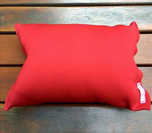 Travesseiro para praia/piscina Red