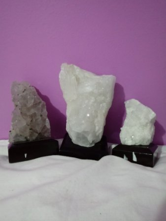 Drusa de quartzo