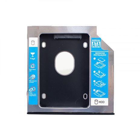 Gaveta para HD, Hoopson Para Hd/ssd-2.5 Sata / 9.5mm- Alumínio Chd-006