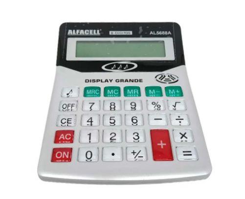 Calculadora Eletrônica de Mesa 17x14x5xcm Imporiente