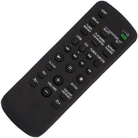 Controle Remoto Aparelho Som Sony Fst-sh2000 Mhc-ec590 No Rj
