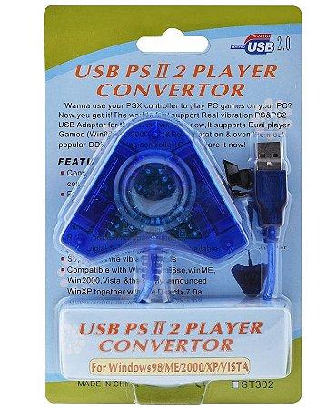 Usb Px Player Convertor Ps2 Ps3 Pc Adaptador