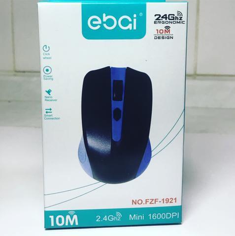 Mouse ebai - NO.FZF-1921 - 10M Azul 2.4Ghz