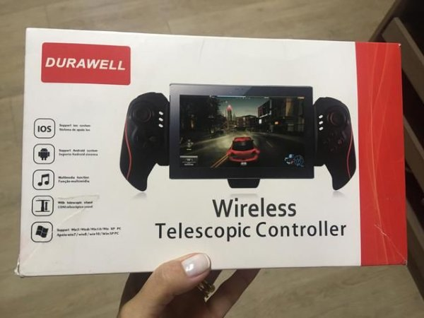 Gamepad Bluetooth Para Tablet Telescopic duraweell