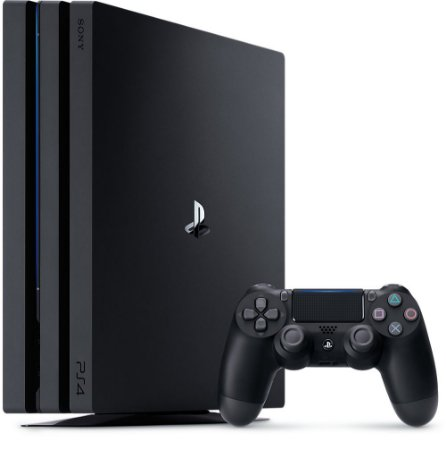 Console Sony / Playstation 4 Pro 1TB (CUH-7215B) Preto