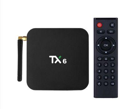 TX6 Android 9.0 CAIXA DE TV H6 Quad Core 32gb 3gb ram