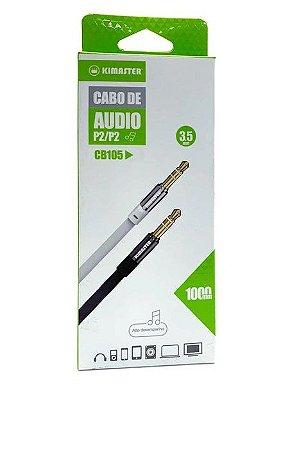 Cabo de Audio P2/P2 KIMASTER CB-105