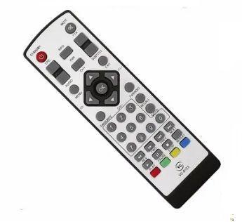 CONTROLE REMOTO COMPATÍVEL CONVERSOR DIGITAL LB SAT LBHD30 VC-8123