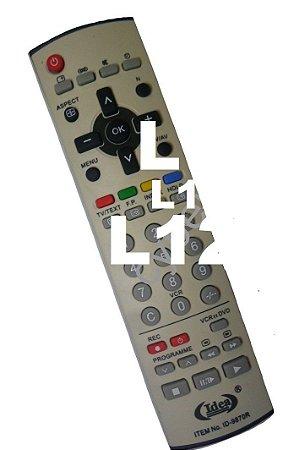 Controle Remoto Tv Panasonic Lcd - ID-9870R