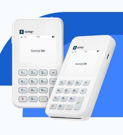 SumUp On Maquininha De Cartão Wi-fi Chip 3G Não Precisa De Celular