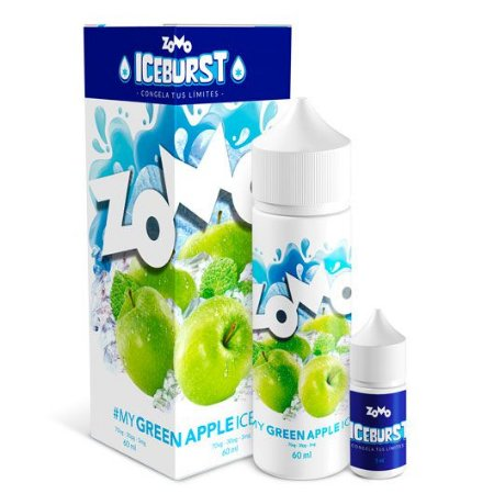 Líquido Zomo Iceburst - Green Apple