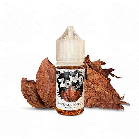 Líquido Zomo Nic Salt - Classic Tobacco