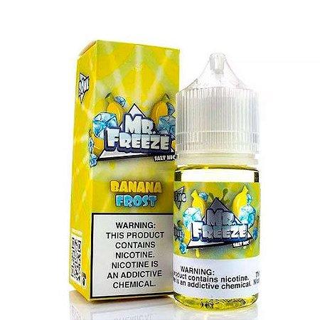 Líquido Mr Freeze Nic Salt - Banana Frost