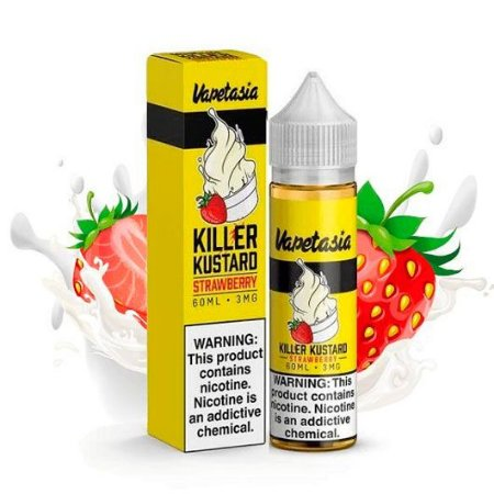 Líquido Vapetasia - Killer Kustard Strawberry