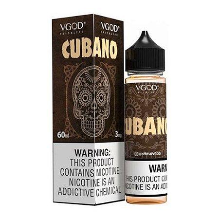 Líquido Vgod - Cubano