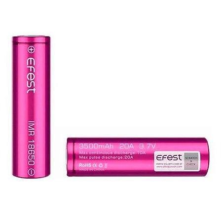 Bateria/ Pilha 20A 18650 - 3500mAh - Efest