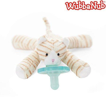WubbaNub: A chupeta mais fofa que existe! - Gato Malhado (Tabby Kitten)