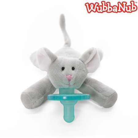 WubbaNub: A chupeta mais fofa que existe! - Rato (Little Mouse)