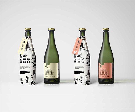 Eu Borbulho - Espumante Natural - Morada - Combo 6 garrafas.