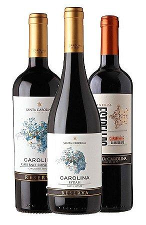 Vinhos Chilenos - Combo